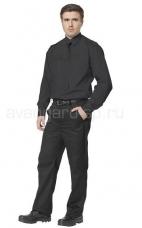 Рубашка охранника дл. рукав
