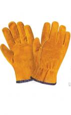 Перчатки спилковые утепленные Natan
