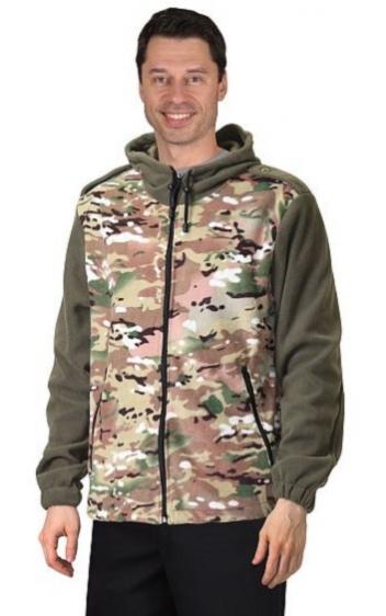 Куртка Стингер флисовая КМФ Мультикам