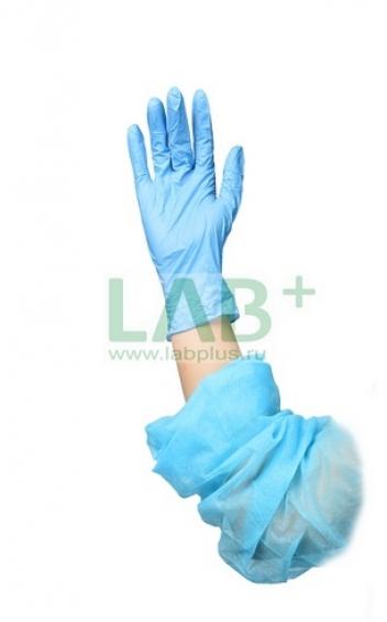 Перчатки LAB+ нитриловые неопудренные