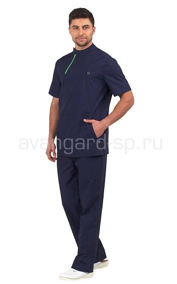 Блузон медицинский мужской Эскулап