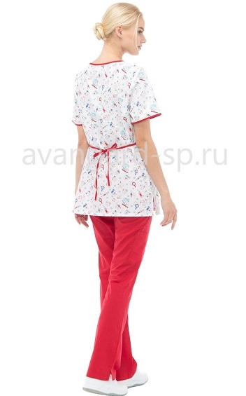 Блуза женская LF2111 Зубки