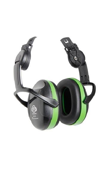 Наушники противошумные EAR DEFENDER ГРИН (крепление на каску)