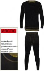 Термобелье NordKapp Arctic чер.-хаки 9004BH