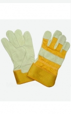 Перчатки кожаные утепленные