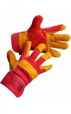 Перчатки спилковые комб. усиленные