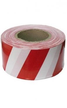 Лента оградительная ЛО-200 (красно-белая) 50мм